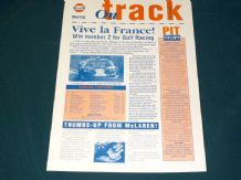 GULF McLAREN F1 GTR 1995 ON TRACK info sheet - #3 Ricard Report/Monza Preview